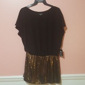 Express Sequinned Party Dress